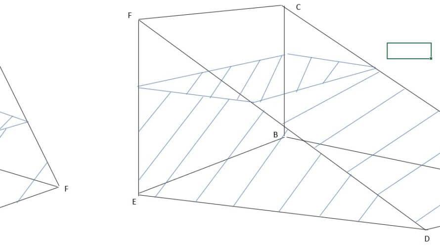 開成中学入試問題「算数」を徹底解説、平成29年度「算数」大問4(3)図形ー第6回