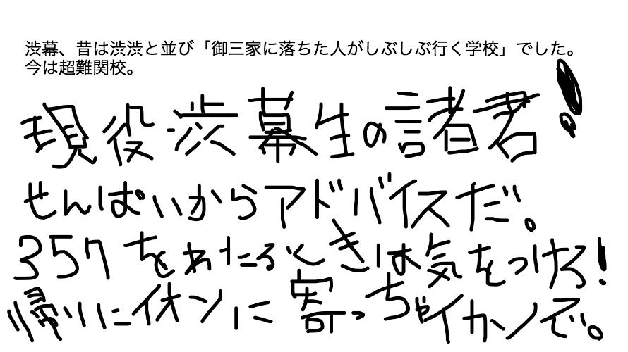 渋谷教育学園幕張中学の入試基礎データ