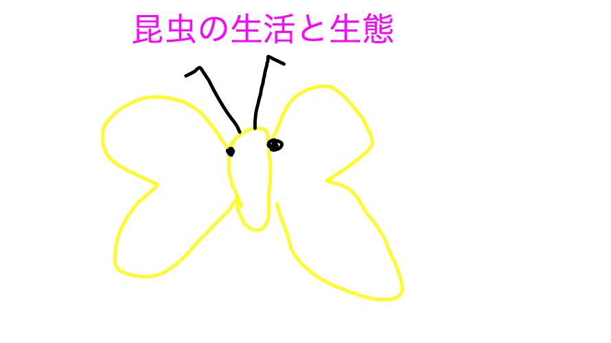昆虫の生活と生態