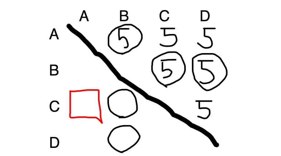 SAPIX入室テスト算数 推理6